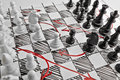 Chess. Plan Of Battle. Stock Photography - 86299382