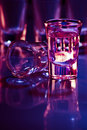 Drink In Purple Light Stock Images - 8637124