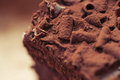Piece Of Chocolate Cake. Stock Images - 86306784