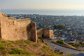 Wall Of Naryn-Kala Fortress And View Of Derbent City. Stock Image - 86327671