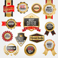 Set Of Vector Badges Shop Product Sale Best Price Stickers And Buy Commerce Advertising Tag Symbol Discount Promotion Royalty Free Stock Image - 86343596