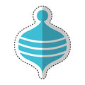 Toy Spinning Top Icon Royalty Free Stock Image - 86345056