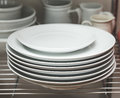 Stacked Dishes In Kitchen Royalty Free Stock Images - 86353019