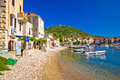Town Of Komiiza Beach And Old Architecture Royalty Free Stock Image - 86364246
