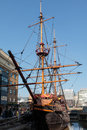 LONDON/UK - FEBRUARY 13 : View Of Of The Golden Hind In London O Royalty Free Stock Photography - 86365367