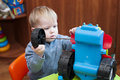 Diligent  Baby Toy Tractor Wheel Repairs Stock Photos - 86378413