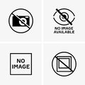 No Image Available Signs Royalty Free Stock Image - 86393136