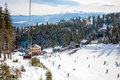 Ski Resort In The Mountains Royalty Free Stock Image - 86399706