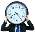 Clock Head Stock Photography - 8642302