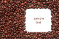 Frame Of Coffee Beans Stock Photography - 86417772