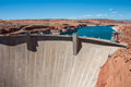 Glen Canyon Dam In Page, Arizona, USA Stock Photos - 86458893