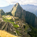 Machu Picchu Landmark Stock Photos - 86477523