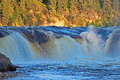 Coral Falls In Northwest Territories Royalty Free Stock Image - 86484186