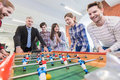 People Playing Table Football Royalty Free Stock Photos - 86540458