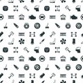 Car Spare Parts Vector Seamless Pattern Stock Photos - 86575983