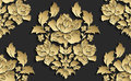 Wallpaper In The Style Of Baroque . Vector Damask Seamless Floral Pattern . Rose Ornament . Royalty Free Stock Images - 86592889