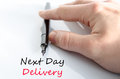 Next Day Delivery Text Concept Stock Images - 86600224