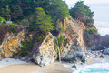 McWay Falls In Big Sur State Park Stock Photography - 86608492