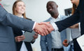 Business People Shaking Hands Stock Photography - 86638132