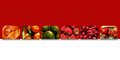 Square Shapes Full Of Fresh Fruits Stock Photography - 86678952
