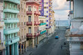 View Of The Malecon From A Balcony In Central Havana, Cuba Royalty Free Stock Photos - 86682818