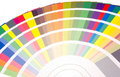 Fan Of Colors And Tone Samples Royalty Free Stock Image - 8678066