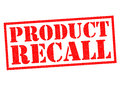 PRODUCT RECALL Royalty Free Stock Photography - 86703887