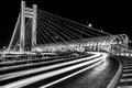 B&W Bridge - Basarab Overpass At Night Stock Image - 86726621