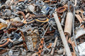 Background Pile Of Rusted Metal Scrap Stock Images - 86771754