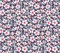 Cute Floral Pattern. Royalty Free Stock Photos - 86797998
