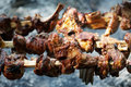 Roasted Lamb Meat Royalty Free Stock Photos - 8683398