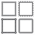 Geometric Ornamental Frames Stock Images - 8685634