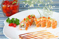 Chef S Special Sushi Roll Stock Photography - 8685862