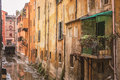 Hidden Canal In Bologna Italy Royalty Free Stock Photography - 86804337