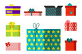 Gift Box Anniversary Event Satin Greeting Object With Ribbon And Bow  Valentine Paper Package Festive Party Royalty Free Stock Photos - 86847108