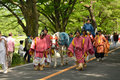 The Parade Of Kyoto Aoi Festival, Japan. Stock Image - 87054171