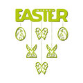 Easter Laser Cutting Royalty Free Stock Images - 87122979