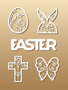 Easter Laser Cutting Royalty Free Stock Images - 87139989