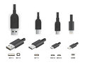 USB All Type Stock Photos - 87210543