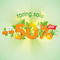 Spring Season Sale Up To 50 Off Stock Image - 87281881