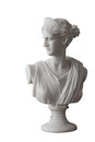 White Head Marble Statue Of Roman Ceres Or Greek Demeter Royalty Free Stock Photo - 87290845