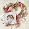 Beautiful Accessories And Gift For Wedding Or Valentine`s Day Stock Photography - 87316122