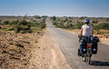 Cycling In Rajasthan Stock Photo - 87319010