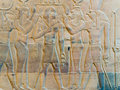 Engravings On The Wall Of The Ancient Temple Of Egypt. Stock Photos - 87333973