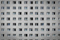 Windows On Building Facade - Apartment Block Royalty Free Stock Photos - 87339428
