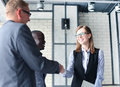 Business People Shaking Hands Stock Photo - 87345320