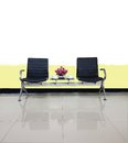 Empty Chairs In Waiting Room Interior Design Use For Relax Stock Photography - 87371822