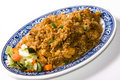 Fried Rice Plate Royalty Free Stock Photo - 8743525
