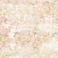 Grungy Soft Pastel Abstract Vintage Floral Shabby Chic Distressed Textured Wallpaper Background Royalty Free Stock Images - 87405029