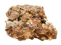 Natural Sample Of Conglomerate Rock From Cemented Gravel And Pebbles On White Background Stock Photo - 87442670